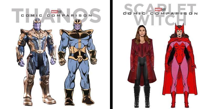 21張《復仇者聯盟4》「真人 VS 漫畫」驚人對比圖!鋼鐵人原版太可愛、蟻人讓網笑翻:這怎麼比?