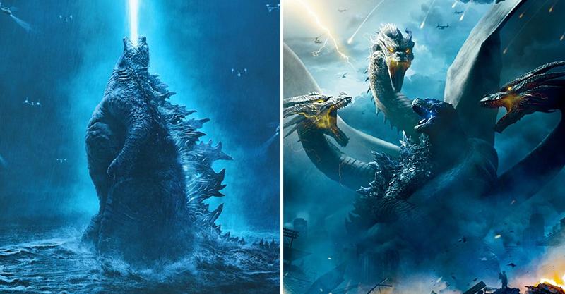 《哥吉拉 II:怪獸之王》無雷影評解禁 怪獸激戰震撼外媒:每個場景都想拿來當桌布!