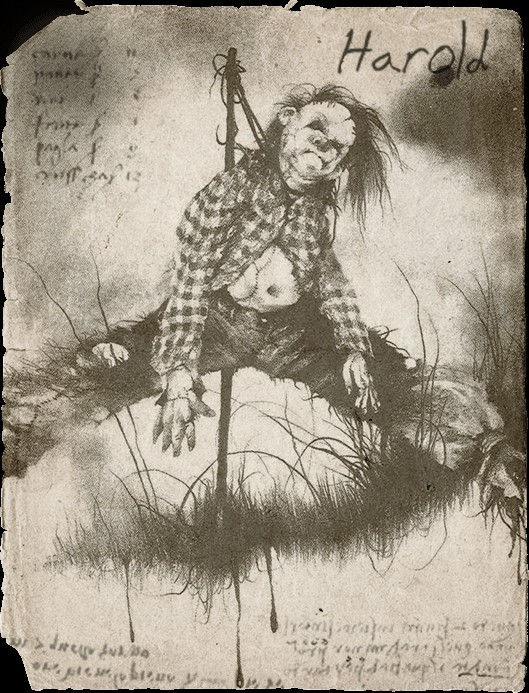 《在黑暗中說的鬼故事》原著恐怖插畫曝光 惡鬼1:1大銀幕神還原!