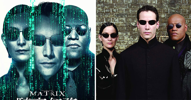 【微雷】《駭客任務》20周年重新上映!「夢與現實」只有一線之隔...你會吃下藍色還是紅色藥丸呢?