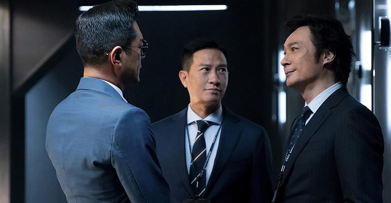 《使徒行者2諜影行動》張家輝、古天樂、吳鎮宇同台飆演技 親自演出危險鏡頭強調實戰感