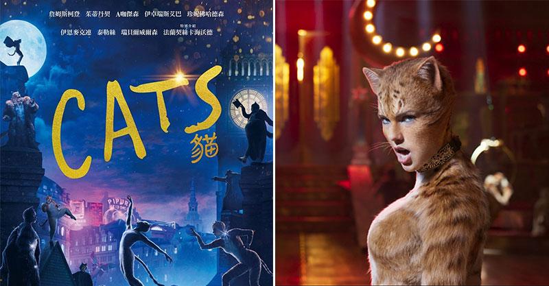 【微雷】《CATS貓》改編經典《貓》陣容夢幻到爆 還原貓咪「太獵奇」泰勒絲表現出乎意料!