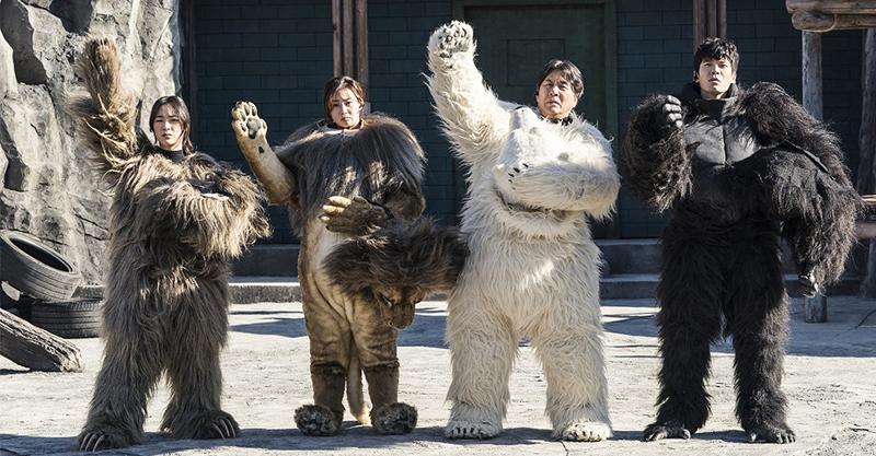 """《超""""人""""氣動物園》另類一人飾兩角!安宰弘、姜素拉下海扮動物拯救動物園"""