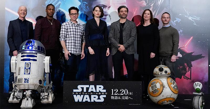《STAR WARS : 天行者的崛起》演員現身東京 JJ亞伯拉罕保證「星戰終曲」肯定讓粉絲滿意