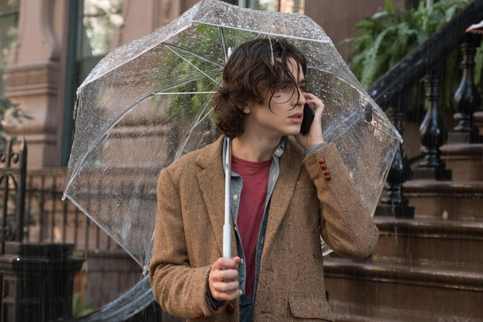 《雨天.紐約》提摩西與賽琳娜、艾兒芬妮浪漫糾纏 自彈自唱爵士樂迷倒千萬粉絲