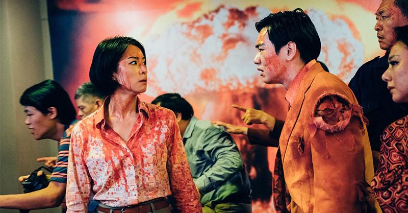 《逃出立法院》賴雅妍、禾浩辰硬起來對決活屍 不延期上映拼命衝出活路
