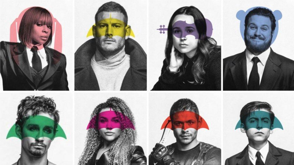 史上最瘋狂的漫改影集《雨傘學院》第二季主要角色個人海報公開!