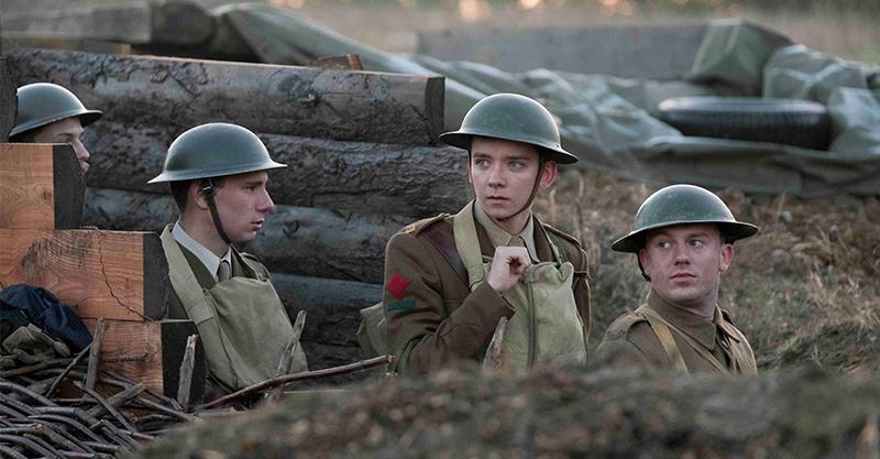 《決戰最前線》英男星親自下場挖戰壕 直呼是從影來「最臭片場」!