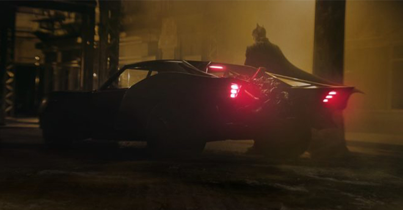官方釋出新版《蝙蝠俠》電影中的蝙蝠車其概念模型!