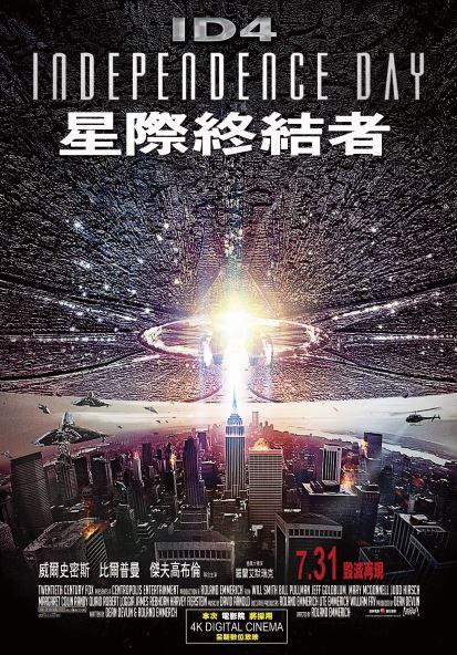 經典科幻片《ID4星際終結者》24年後重返大銀幕 重溫轟炸白宮極致震撼感