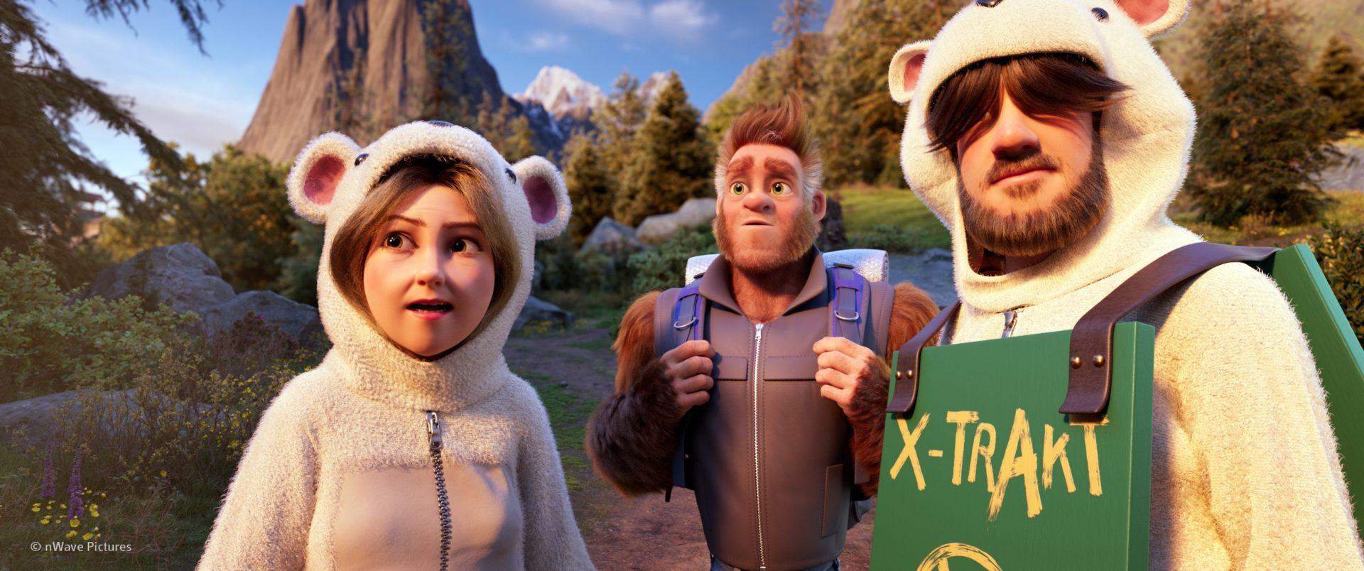 網友盛讚比《冰雪奇緣》更好看 《森林特攻隊:大腳丫家族》親子滿意度破表