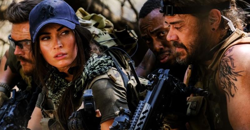 打破花瓶印象!《重裝救援:全境獵殺》槍戰、爆破樣樣來 性感女神梅根福克斯「驚人毅力」令導演驚豔