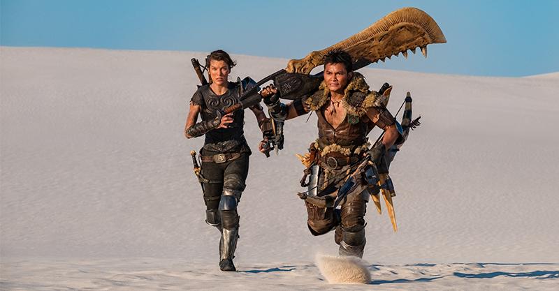 《魔物獵人》索尼PS電玩再登大銀幕 蜜拉喬娃維琪披戰袍穿越世界大戰魔物