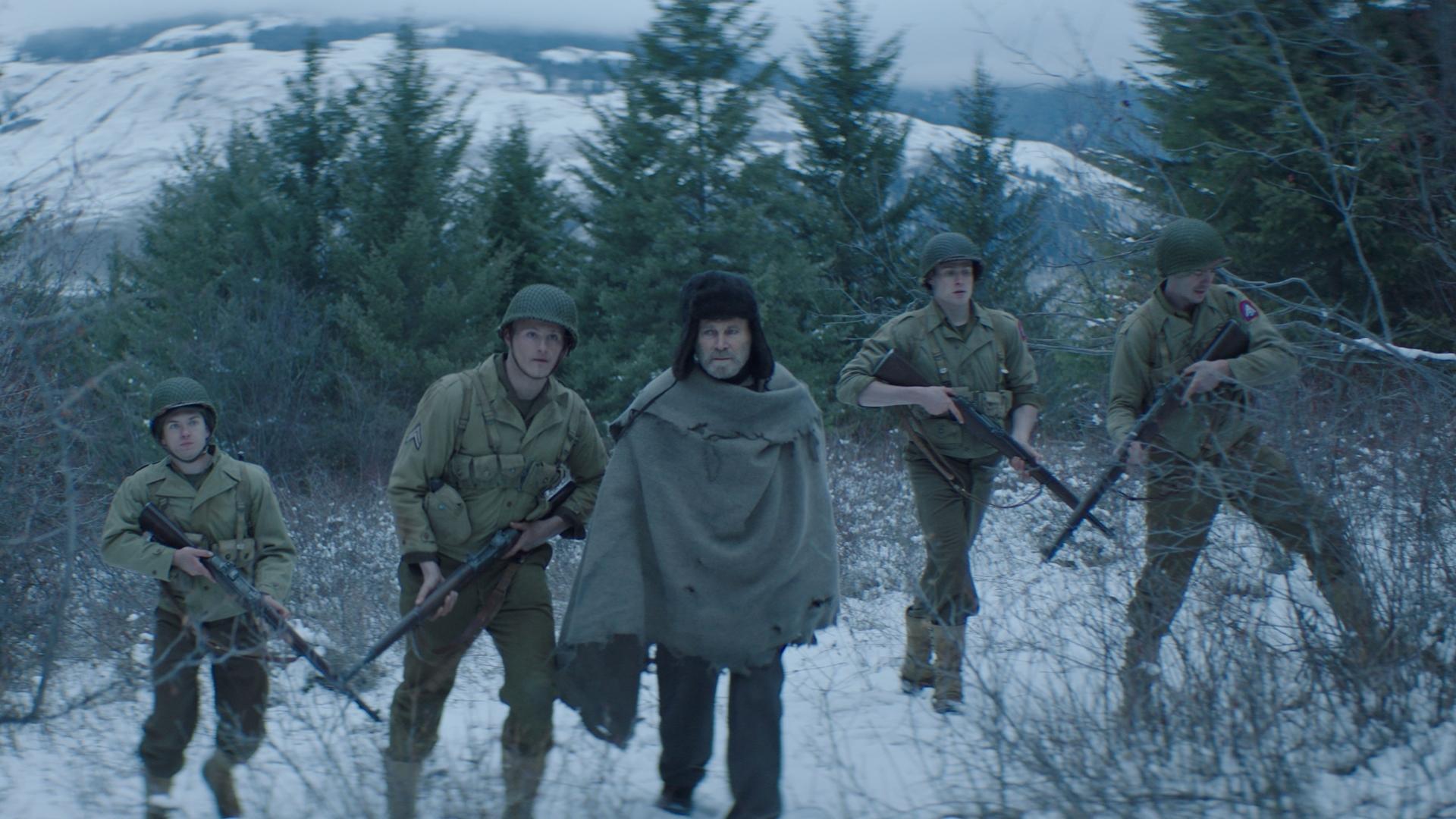 亞歷山大路德韋格《幽靈戰場》削髮執行「自殺任務」激戰看不見的敵人