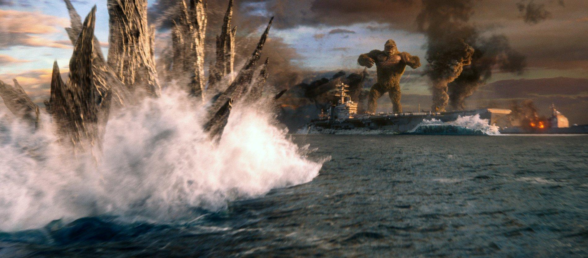 《哥吉拉大戰金剛》兩大巨獸為地球秩序平衡而戰 新舊人類角色傳達多層次情感
