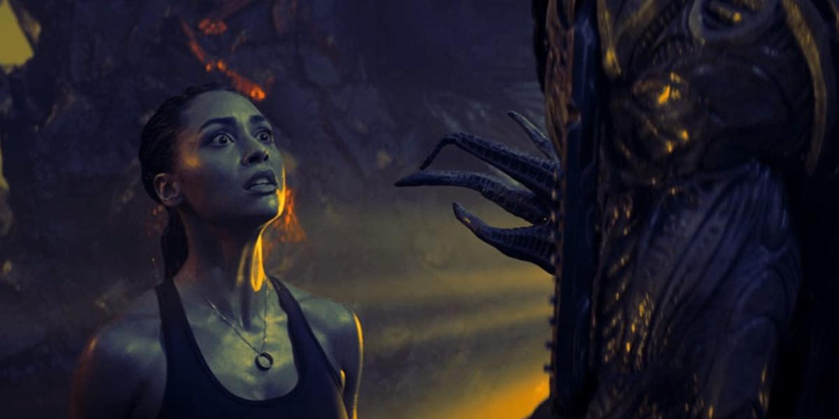女主角琳賽摩根練泰拳動作戲超驚豔 橫跨十年重金打造科幻史詩最終章《末日終結戰》