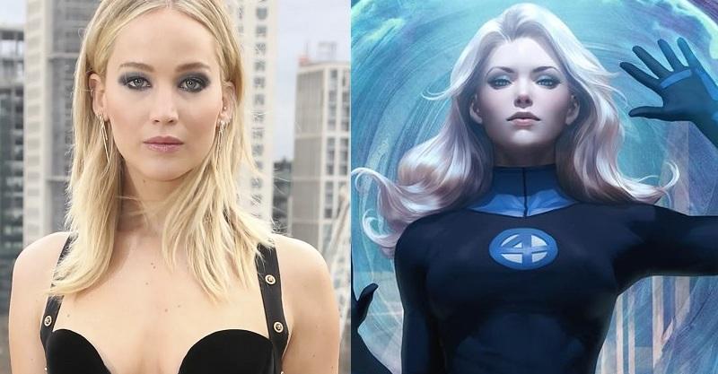 魔形女變身隱形女?傳珍妮佛勞倫斯加盟新《驚奇4超人》近期開拍?