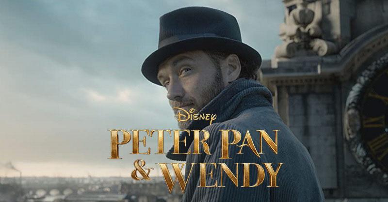 裘德洛主演 Disney+《彼得潘與溫蒂》真人版電影正式開拍!
