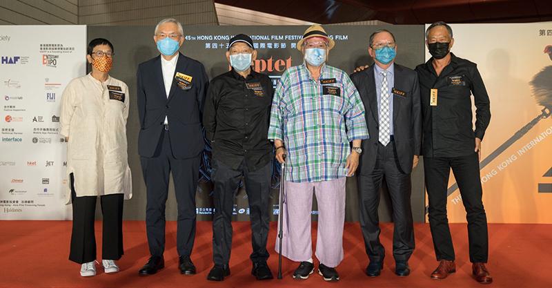 香港七大名導合作電影《七人樂隊》香港電影節首映 觀眾被濃厚的香港情懷深深感動