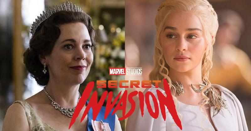 漫威《秘密入侵》雙后加持!《王冠》奧莉薇亞科爾曼、《權遊》「龍后」艾蜜莉亞克拉克確認加盟!