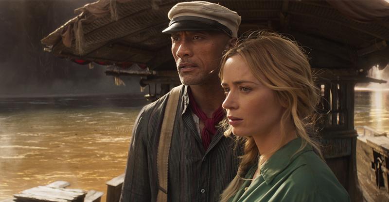 《叢林奇航》驚險刺激叢林探險場面 巨石強森聯手艾蜜莉布朗「深入亞馬遜」探險笑料百出