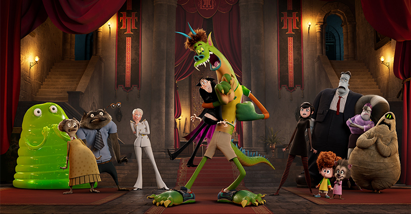 影史最強怪獸卡司全員回歸 《尖叫旅社:變形怪獸》揭開人獸「全新」面貌