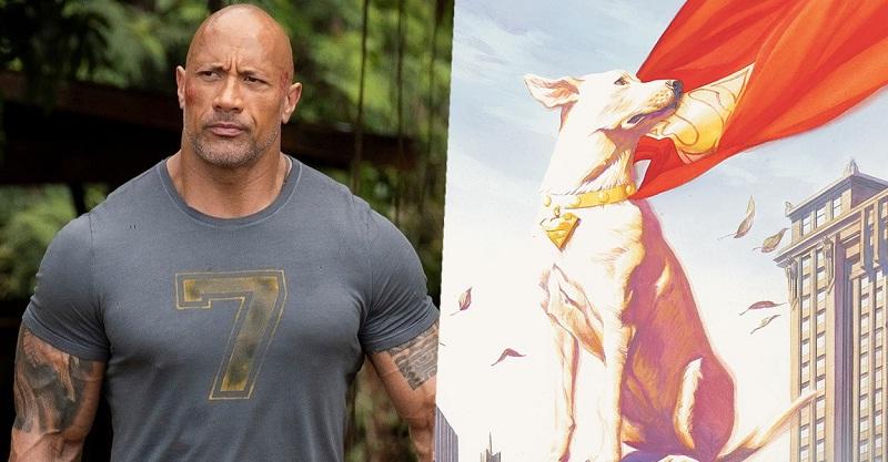 不只黑亞當!巨石強森還將為DC「超級寵物聯盟」配音!