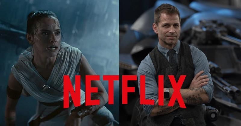 查克史奈德版《星際大戰》棄稿將變身Netflix最新合作作品!