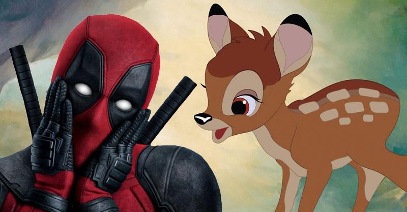《死侍3》明年有望開拍!萊恩雷諾斯爆「亂入小鹿斑比」計劃!